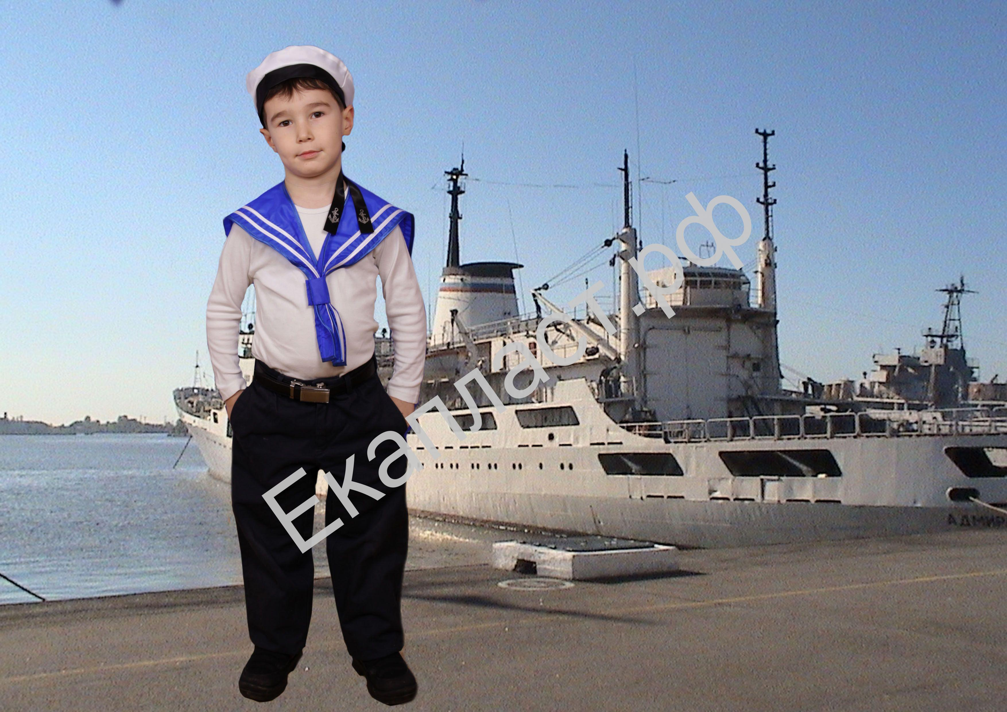 Гюйс моряка своими руками